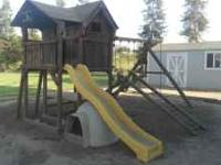 Redwood Play Set. This is a well made set. Has two