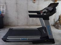 Barely Used, Reebok 9500 ES Treadmill with 7-inch