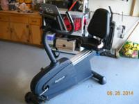 Need to make room. The Reebok RB 345 Recumbent