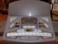 reebok treadmill works great.commercial machine, see