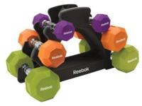 o Easily organize dumbbells with this convenient,