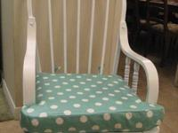 For sale is a refinished glider perfect for your baby's
