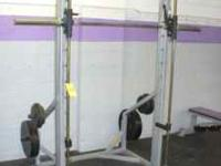 Reflex Smith Machine. Counter balanced and linear