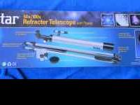 New, never used Vivitar Refactor Telescope with tripod