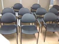 "REFURBISHED OR ""AS IS"" GREEN STEELCASE PLAYER CHAIRS"