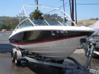 Take a look at this 2200 Regal Bowrider with 5.7 fuel