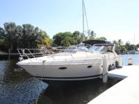 """Knot Working"" is a well-maintained 2003 Regal 3860"