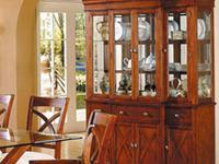 REGENCY BUFFET/ HUTCH * Made of solids and veneers *