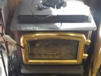 For sale is a Regency C34 direct vent propane stove in