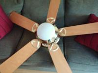 Regency Ceiling Fan Model E75795 Very good condition.