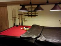 I have a 4 x 8 regulation size pool table that was