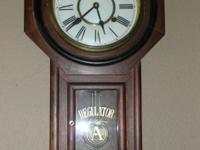 Description Regulator Chiming Wall Clock $45 Must sell