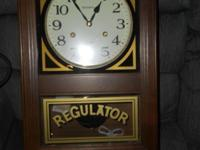 Beautiful wall clock, excellent for office or home.