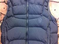 REI Down Puffy Vest obo$. This is a super warm Men's XL