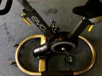 Relay Fitness evo iX Indoor Spinner Bike.  This is not