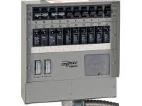 This 10-circuit, 30 Amp manual transfer switch is
