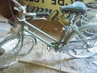 Old reliegh bicycle original parts needs tires n