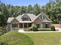 Remarkable custom home on just over four acres with