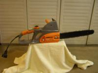 Remington 3.5 hp, 16/41 CM, Electric Chain Saw 120 vac,