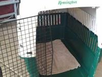 Selling our Remington Large Dog Kennel. We recently got