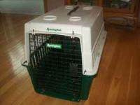 Remington Plastic Medium Dog Carrier Used only a few