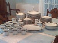 HUGE Red Sea China RSA2 Remington Complete Serving set