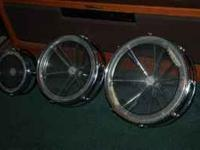 FOR SALE 3 REMO ROTO TOMS 14 INCH. 12 INCH. 8 INCH .