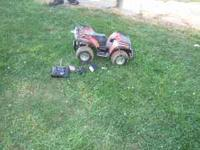 This is a RC quad - 4 Wheeler it has the charger,