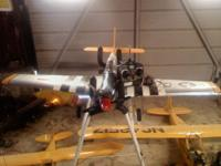 4 gas powered remote control airplanes. Two ready to