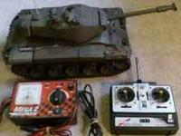 RC Battle Tank that is 1/16 scale. Full movement of