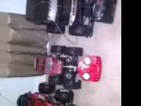 3 Remote controlled cars (1 black Hummer and two