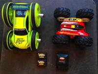 Remote Controlled Cars with Batteries/Charger.