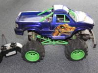 Radio Shack Remote managed Monster Truck. THE CARNIVORE