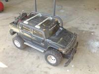 I have a remote controlled Hummer 2 truck. Bought it at