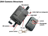 This camera can be controlled to take video or stop by