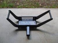 "Removable, portable winch cradle / bracket, 2"" hitch"