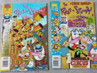 (8) Ren & Stimpy Comic Books in Decent Condition & (1)