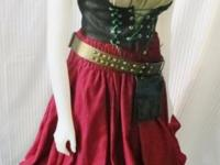 This Pirates of the Carribean inspired Wench costume