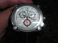 Awesome Renato Vulcan Men's Watch! It is like new, worn