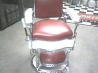 wonderfully brought back koken barber chair. amazing