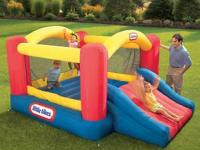 Please no adults on this bounce house!!! Kids only!