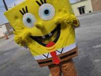 Sponge Bob will come to your house for kids party for