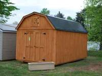 WE OFFER RENT TO OWN SHEDS FOR AS LITTLE AS $99.00 DOWN