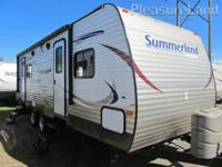 Hi, Jesse here from PleasureLand RV.  I have a 2014