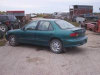 98 CAVALIER WITH LIGHT FRONT END DAMAGE NEEDS A HOOD,