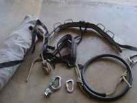 everything needed for one person to go repelling free