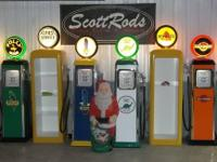 GREAT MAN CAVE GIFT!!!  ScottRods has Replica Gas Pumps