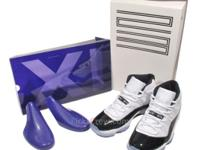 I HAVE A PAIR OF REPLICA AIR JORDAN CONCORDS SIZE 10