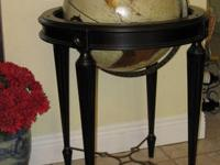 "This is a REPOGLE GLOBE INC. globe, 16"" in diameter."