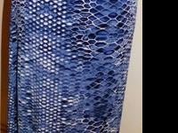 #4602Reptile A-Line maxi SkirtElastic waistline side